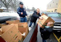 Basket delivery helps local families