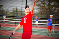 Trojans triumph, take another title in tennis