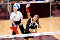 Ball State Swept by Minnesota 3-0