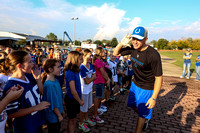 Photo gallery - Colts teach fundamentals to local students
