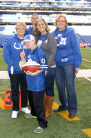 Colts reward 10-year-old for working to overcome obstacles