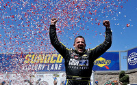 Stewart giving chase to 4th Cup title