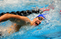 Franklin freshman picks up 2 medals at state swimming finals