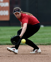 Local high school softball teams swing into action