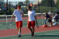Warriors bow out of tennis regional