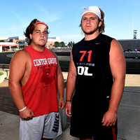 Pair of seniors return to lead Center Grove offensive line