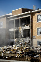 Demolition underway at Franklin hospital