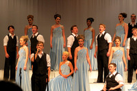 Center Grove show choirs capture invitational honors